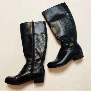 Liz Claiborne Black Riding Boots
